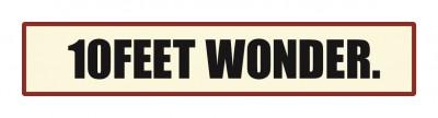 10 FEET WONDER ロゴ